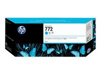 HP 772 - cyan - original - blækpatron 300 ml