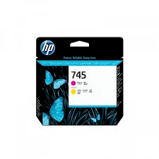 Printhoved, HP No 744 magenta + yellow