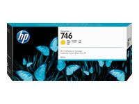 HP 746 300-ml Yellow Ink Cartridge