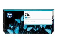 HP 746 300-ml Cyan Ink Cartridge