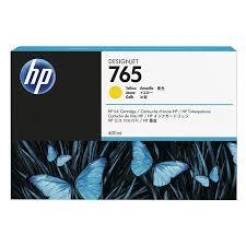 HP 765 400 ml Yellow Ink Cartridge