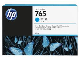 HP 765 400 ml Cyan Ink Cartridge