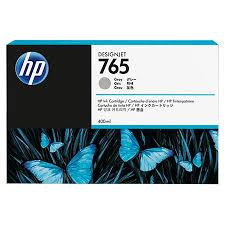 HP 765 400 ml Gray Ink Cartridge